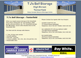 Tenterfield Secure Storage Units